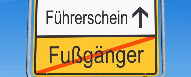 Führerscheinverlust